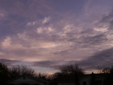1-13-2016 Clouds at Sunset 1