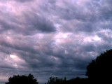 4-18-2016 Sunset with Clouds 4