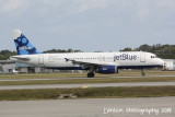 Airbus A320 (N665JB) Something About Blue