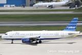 Airbus A320 (N516JB) Royal Blue