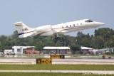 Learjet 60 (N44EL)