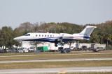 Learjet 40 (N626FX)