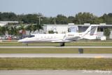 Learjet 55 (N945G)