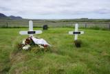 Í Breiðabólstaðarkirkjugarði