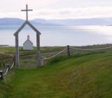 Garðlega séð og innrömmuð