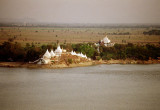 Sagaing Temples on Irrawaddy River