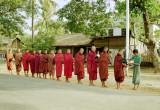 Monks Receiving Offerings