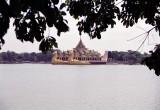 Karaweik Hall at Kandawgyi Lake