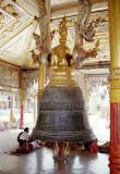 The Maha Tissada Gandha Bell in Shwedagon Pagoda