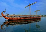 Trireme '' Olympia '' Length 37 m. - Draught 1.25 m. - Weight 70 t ... The trireme 'OLYMPIA' started construction in Greece in M
