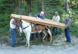 Snowgrass/Goat Creek Plank Packing,  July 2013
