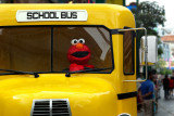 Elmo Driving School Bus