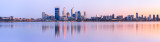 Perth and the Swan River at Sunrise, 24th September 2011