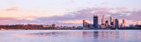 Perth and the Swan River at Sunrise, 28th September 2011