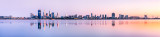 Perth and the Swan River at Sunrise, 7th October 2011