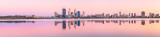 Perth and the Swan River at Sunrise, 15th October 2011