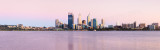Perth and the Swan River at Sunrise, 28th October 2011