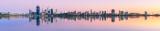 Perth and the Swan River at Sunrise, 11th November 2011