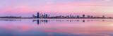 Perth and the Swan River at Sunrise, 15th November 2011