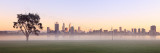 Perth and the Swan River at Sunrise, 3rd May 2013