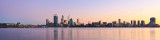Perth and the Swan River at Sunrise, 23rd May 2013