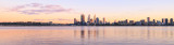 Perth and the Swan River at Sunrise, 29th August 2013