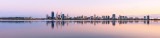 Perth and the Swan River at Sunrise, 2nd October 2013