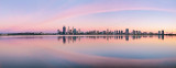 Perth and the Swan River at Sunrise, 25th October 2013