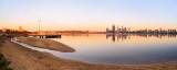 Perth and the Swan River at Sunrise, 11th November 2013
