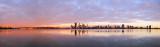 Perth and the Swan River at Sunrise, 25th November 2013