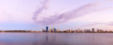 Perth and the Swan River at Sunrise, 1st February 2014