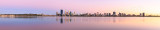 Perth and the Swan River at Sunrise, 2nd March 2014