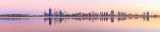 Perth and the Swan River at Sunrise, 16th March 2014