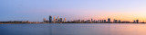 Perth and the Swan River at Sunrise, 19th March 2014