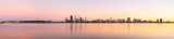 Perth and the Swan River at Sunrise, 22nd April 2014