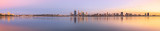 Perth and the Swan River at Sunrise, 1st May 2014