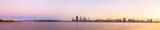 Perth and the Swan River at Sunrise, 17th May 2014