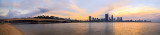 Perth and the Swan River at Sunrise, 20th May 2014