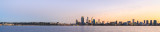 Perth and the Swan River at Sunrise, 18th July 2014