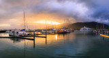 Cairns Marlin Marina at Sunrise, 30th July 2014