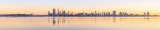 Perth and the Swan River at Sunrise, 16th August 2014
