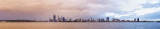 Perth and the Swan River at Sunrise, 18th August 2014