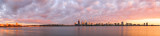 Perth and the Swan River at Sunrise, 27th August 2014