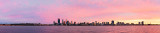 Perth and the Swan River at Sunrise, 28th August 2014