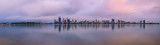 Perth and the Swan River at Sunrise, 30th August 2014