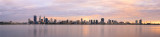 Perth and the Swan River at Sunrise, 5th September 2014