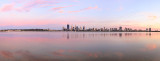 Perth and the Swan River at Sunrise, 28th October 2014