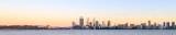Perth and the Swan River at Sunrise, 1st November 2014