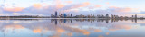 Perth and the Swan River at Sunrise, 3rd November 2014