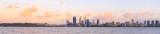 Perth and the Swan River at Sunrise, 7th November 2014